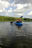 Kayaking in Tarpon Bay