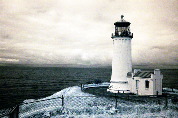 North Head Light, Cape Disappointment Light, Washington
