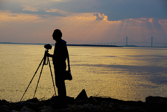 Waiting for the perfect shot, Jekyll Island